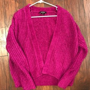 New in Packaging | Express Velvet Chenille Sweater